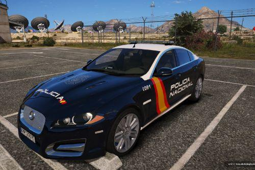 Jaguar XFR 2013 Policia Nacional/CNP of Spain/España[FiveM-Replace]
