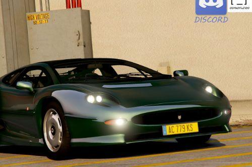 Jaguar XJ220 1992-1994 [Add-On | Extras | Template]