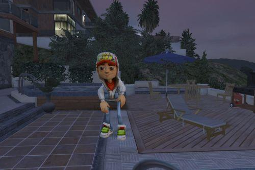 Jake from Subway Surfers
