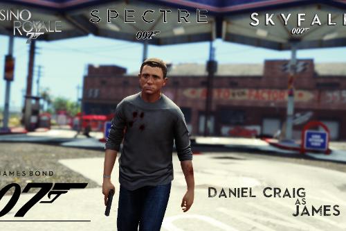 James Bond 007 (Daniel Craig) [Add-On Ped]