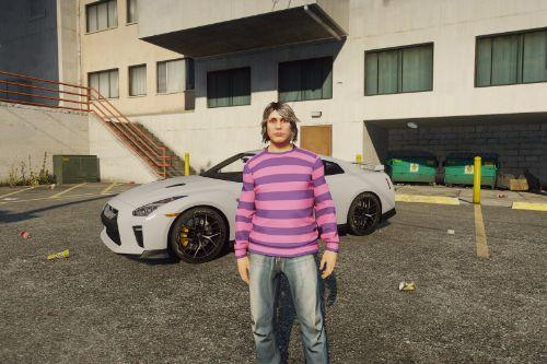 James May Iconic Striped Shirt