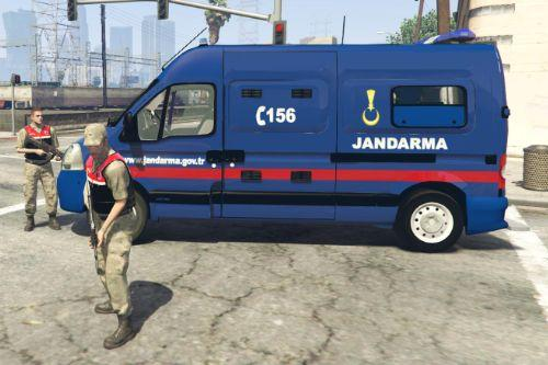 Jandarma Renault Master [4K]