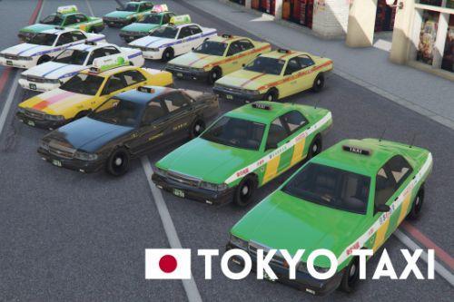 Japan Toyko Taxi Paint job