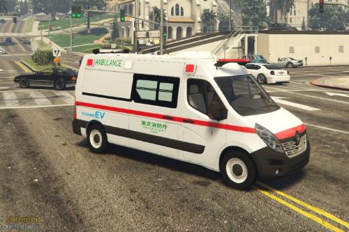 Japanese Ambulance NV400