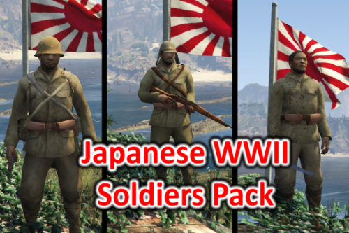 Japanese WW2 / WWII Soldiers Pack (COD WAW)