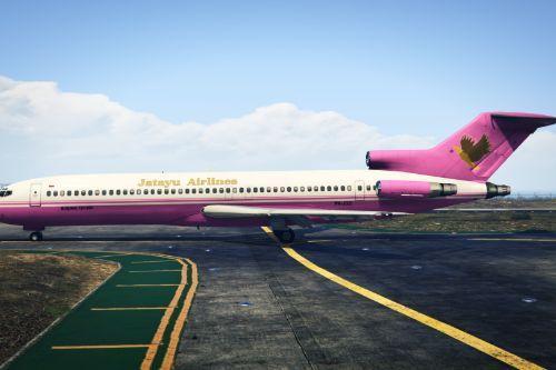 Jatayu Airlines (Indonesian Airlines) Boeing 727-200 PK-JGO