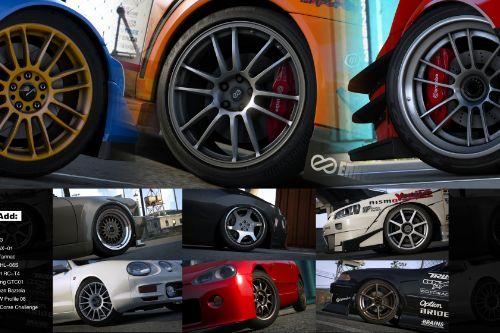 JDM Rims Pack [Add-On]