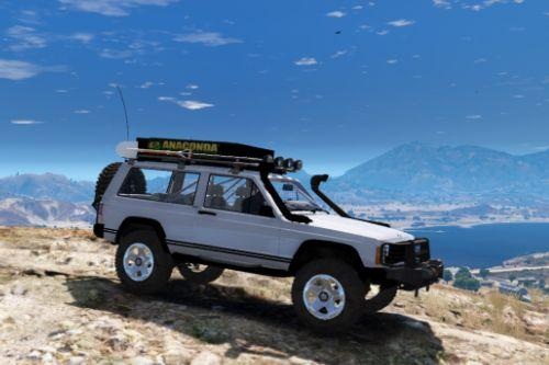 Jeep Cherokee 1998 Sport Off Road  [Replace | 10 Extras | Unlocked]