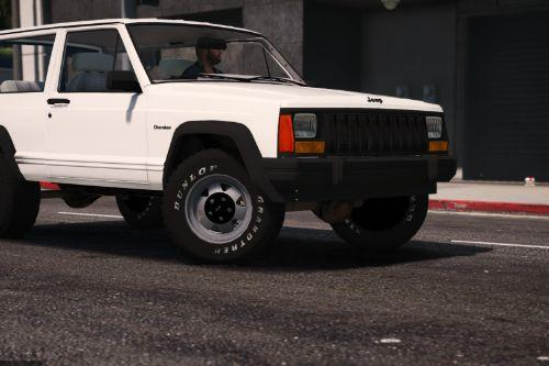 Jeep Cherokee XJ 1996 [Add-On / Replace | Livery | Extras | Template]
