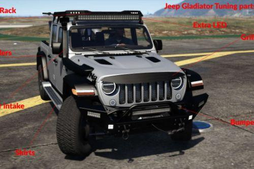 Jeep Gladiator 2020 [Add-On / FiveM | Tuning]