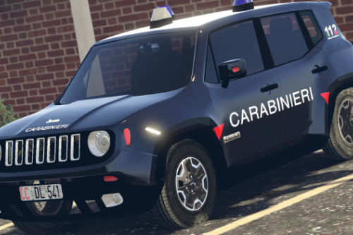 Jeep Renegade - Carabinieri Paintjob