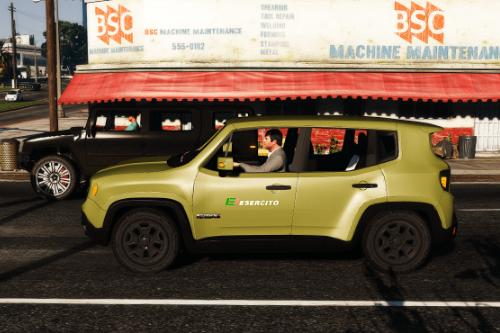Jeep Renegade Esercito Italiano Paintjob