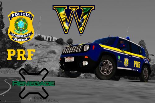 Viatura Polícia Rodoviária Federal Brasileira PRF Jeep Renegade - Brazilian Highway Patrol