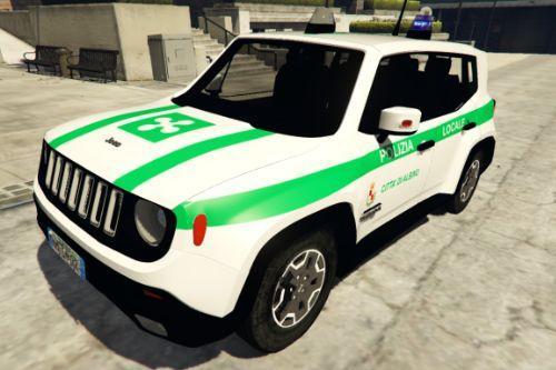 Jeep Renegade Polizia Locale - Lombardia Bergamo | Città di Albino | Reskin [ELS]
