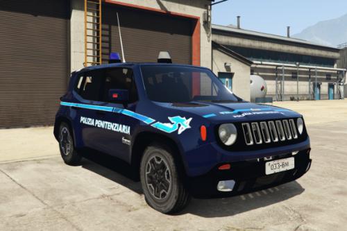 Jeep Renegade POLIZIA PENITENZIARIA