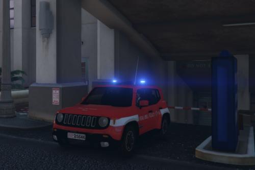 Jeep Renegade Vigili del Fuoco [Replace] [ELS]