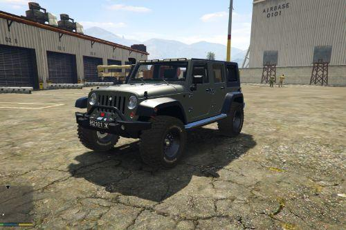 Jeep Rubicon 2014 | Israeli Army Paintjob