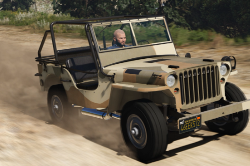Jeep Willys MB [Add-On | Replace | Livery | Extras | Template]