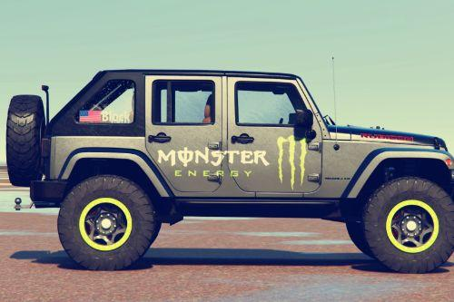 [Jeep Wrangler 2012 Rubicon ]Monster livery