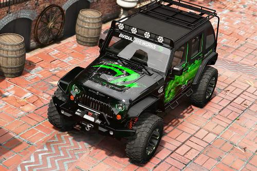 Jeep Wrangler 2012 Rubicon【NVIDIA】