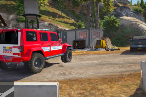 Jeep Wrangler 2014 Romanian Politia Criminalistica