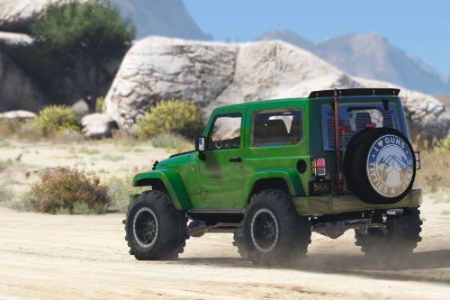 Jeep Wrangler Unlimited 3 Door JK 2013 [Add-On | Tuning]