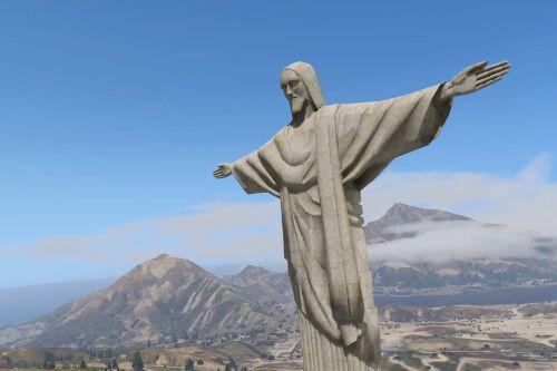 Jesus Christ Statue [Emissive Add-On / Replace]