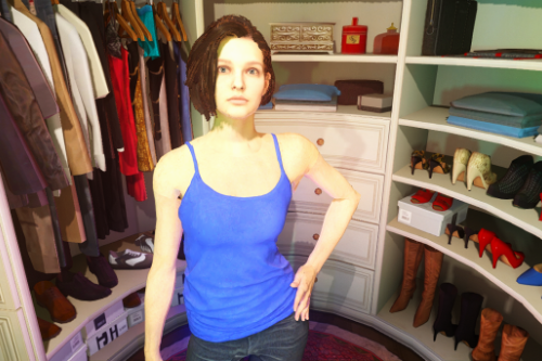 Jill Valentine Re-Texture Pack