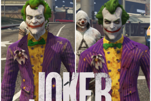 Joker Arkham Pack [Add-On Ped]