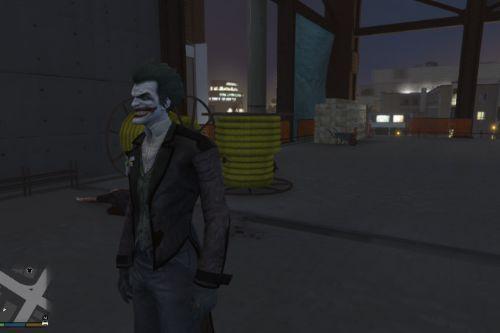 Joker Batman Arkham Origins [Add-On Ped]