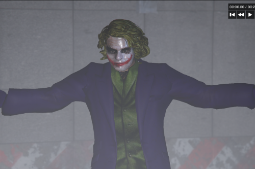 Joker from Dark Knight [2K | Ped] [Addon/Replace]