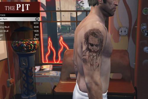 Joker Tattoo (Joker Dövmesi)