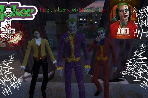 """Jokers"" W/Cloth: Batman Aarkham Asylum"