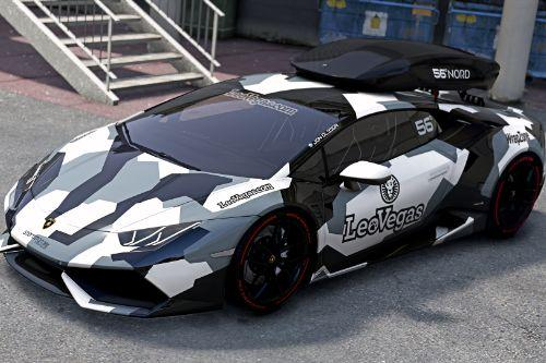 Jon Olsson's Lamborghini Huracan 610-4 DTM  [Add-On / Template]