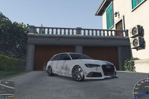 Jon Olsson's No.1 I Audi RS6+ Avant ABT livery