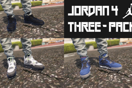 Jordan 4 Three-Pack