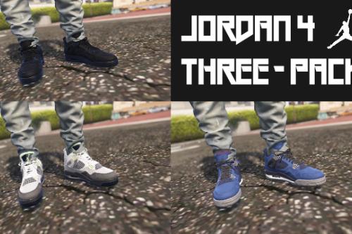 Jordan 4 Three-Pack