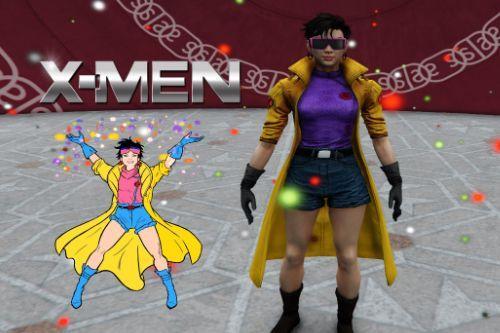 Jubilee from X-Men  [Add-On Ped]