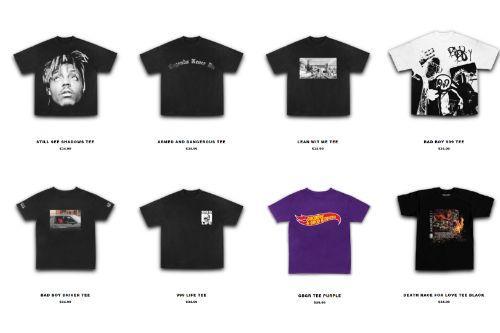 Juice WRLD 999 CLUB Shirts Pack (8 shirts)