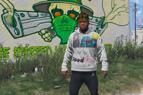 Juice WRLD hoodie and t-shirt (Goodbye and good riddance album)