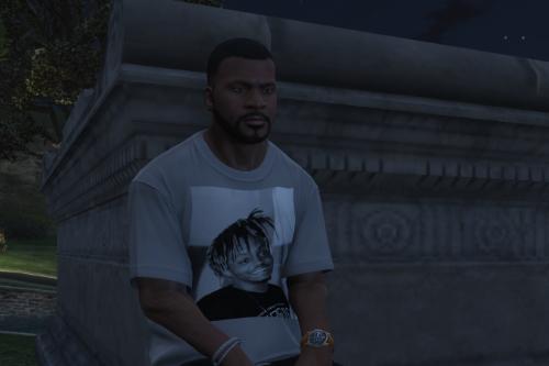 Juice Wrld t-shirt for Franklin