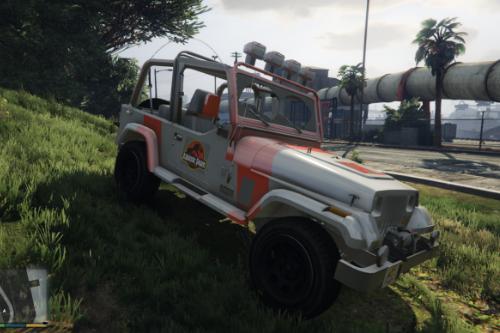 Jurassic Jeep [ADD-ON]