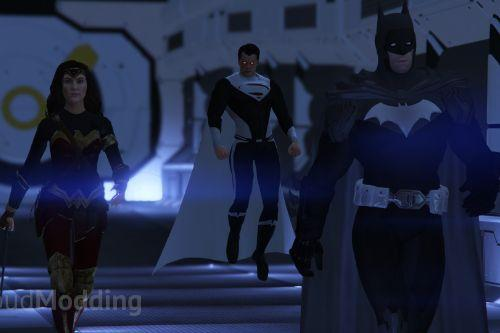 Justice Lords Pack | [Add-On Peds]