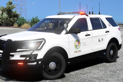 K-9 Skin for Ford Explorer 2016 Police
