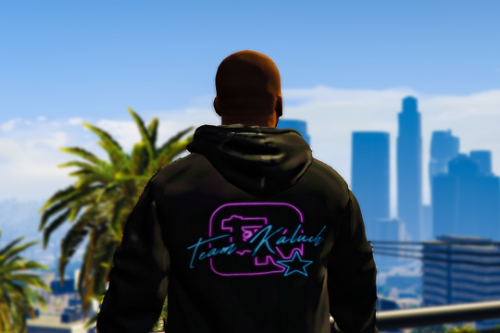Kaluch Bluza NEON hoodie for Franklin