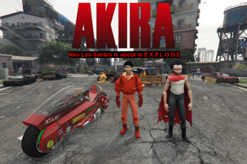 Kaneda & Tetsuo from Akira [Add-On Ped]