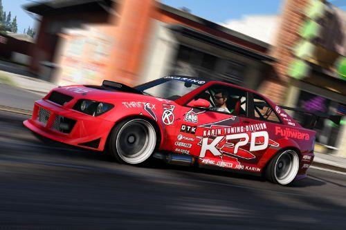 Karin Sultan RS KTD Drift-Spec