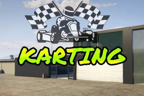 Karting Track and props [YMAP]