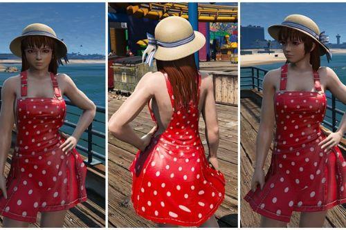 Kasumi Casual Dress (DOAR5) [Add-On Ped]