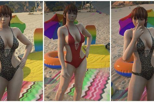 kasumi swimsuit (addon or replace)